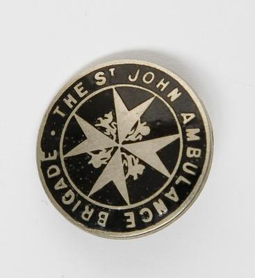Badge – St. John Ambulance Brigade