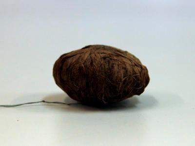Ball of bark fibre