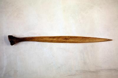 Cassoway bone knife / wedge