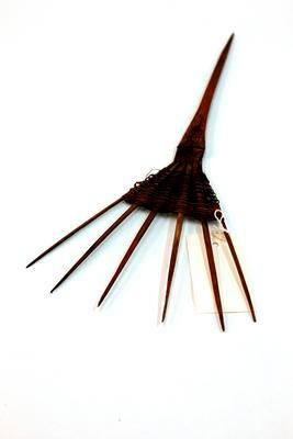 Bamboo hair ornament