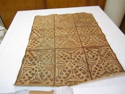 Tapa cloth; ; 1975/56/16