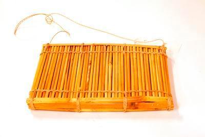 Bamboo rattle