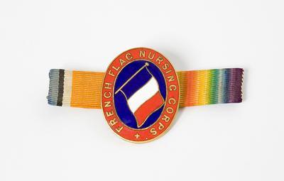 Badge – French Flag Nursing Corps