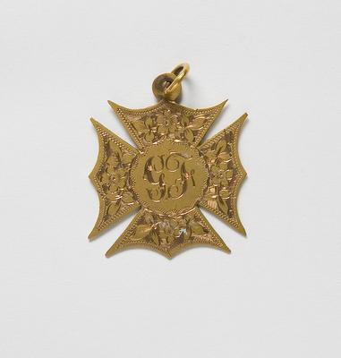Medal – Girls 1st Prize Highland Fling, Gladys Friar