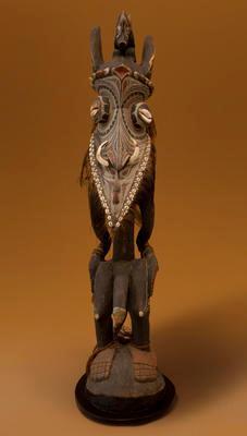 Carved spirit figure