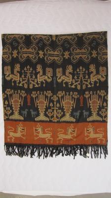 Ikat hand-woven mat / sumba ikat selmet