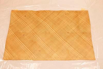 Plaited mat