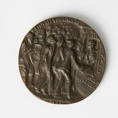 "Medal – German, Sinking of the ""Lusitania"""