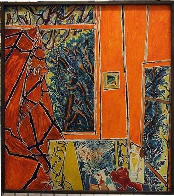 Interior and Hedge; Philip Trusttum; 1976; 1975/22/1