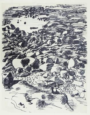 Drawing of Rockscape