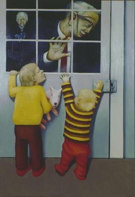 Grandparents at the Door