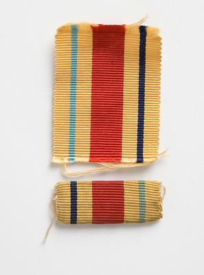 Ribbon from Africa Star Medal, W.C. Morris