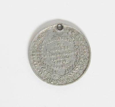 Medal – New Zealand Proclaimed A Dominion Sept 26 1907