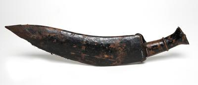 Kukri Ghurka knife and sheath