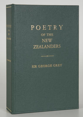 Book - Poetry Of The New Zealanders