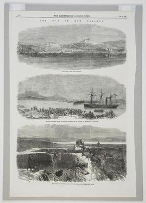 The War In New Zealand; The Illustrated London News; 1864; 2005/11/12