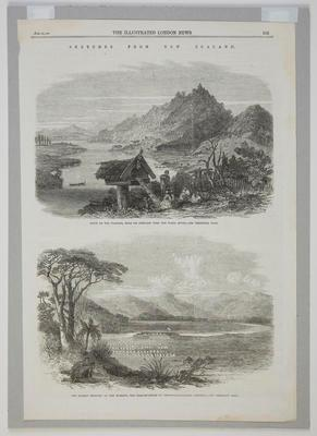 Sketches from New Zealand; The Illustrated London News; 30 Jan 1864; 2005/11/17