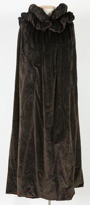 Men's Dark Brown Evening Cloak