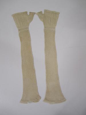 Women's long length mittens