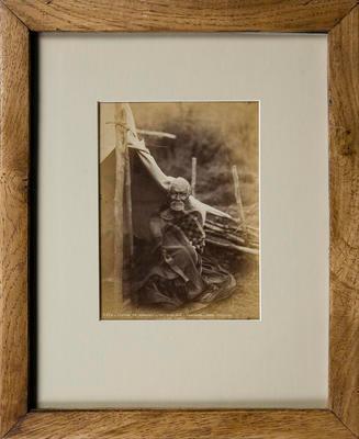 Photograph of Maori Man