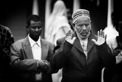 Prayers at Eid