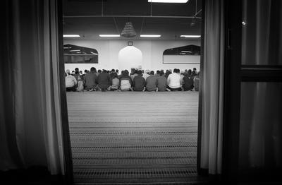 Gathering at the Mosque