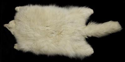 White Fox Fur Muff