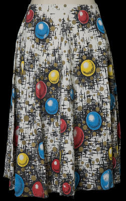 Skirt Flared - Colourful Print Patten