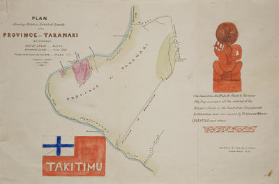 Map - Province of Takitimu; Charles Heaphy; 1861; 2007/24/14