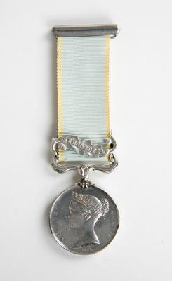 British Crimea Medal – Captain Hamilton