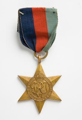 1939–45 Star Medal – A.G. Levien