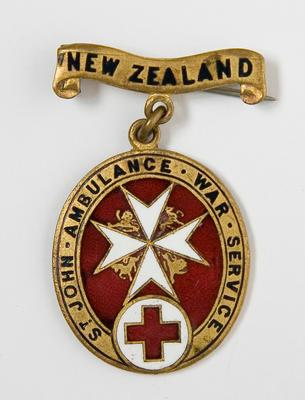 Badge – St. John Ambulance War Service