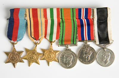 Medals – WWII, C.G.Hunt