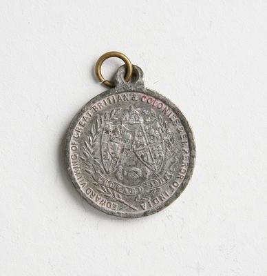 Medal – Commemorating  Edward VII Coronation 1901