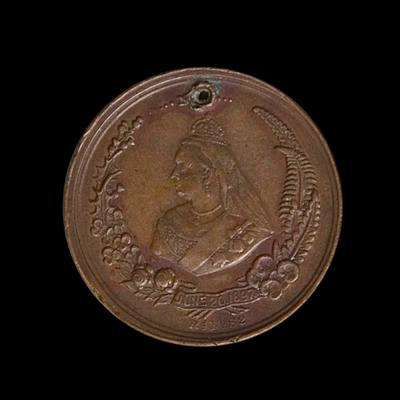 Medal – Commemorating 60th Jubilee of Queen Victoria's Reign