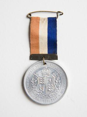 Medal – Commemorating King George V and Queen Mary Coronation 1911