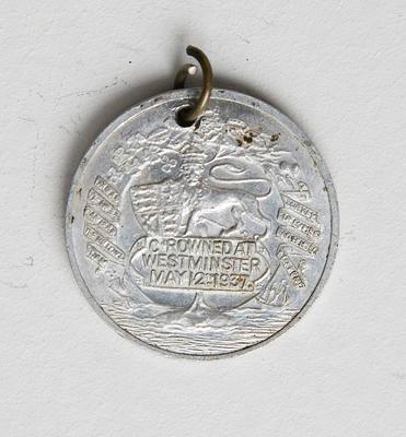 Medal – Commemorating King George VI & Queen Elizabeth Coronation 1937