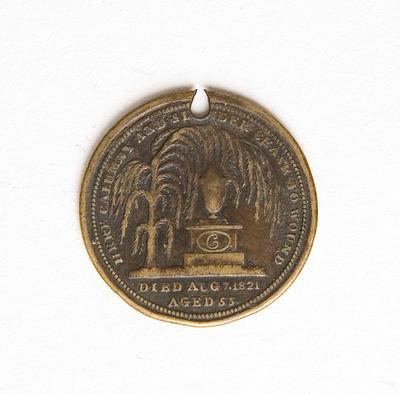 Medal – Death of Queen Caroline 1821