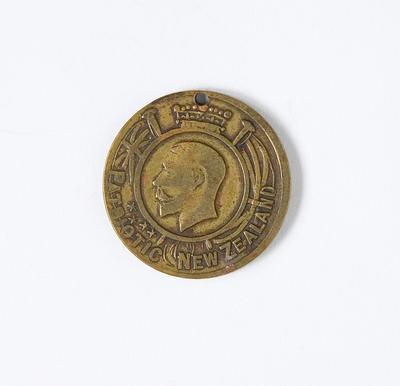 Medal – Patriotic New Zealand World War I