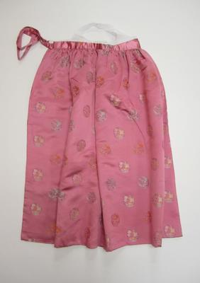 Korean women's skirt (chima)