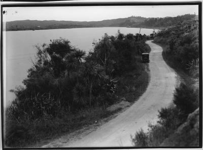 Glass plate negative – Wairoa River, between Dargaville and Tangowahine