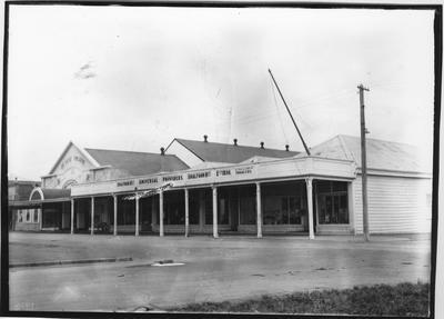 Glass plate negative – Shalfoon Brothers, Opotiki