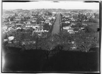 Glass plate negative – Wanganui from St. John's Hill