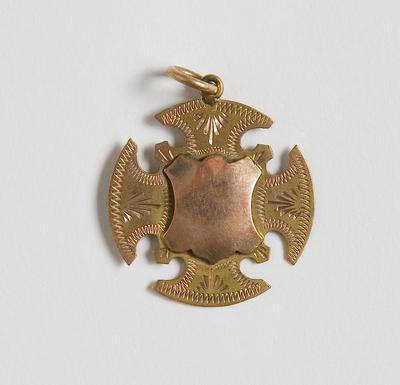 Medal – Pukemiro School Champ 1st  J.Thomas