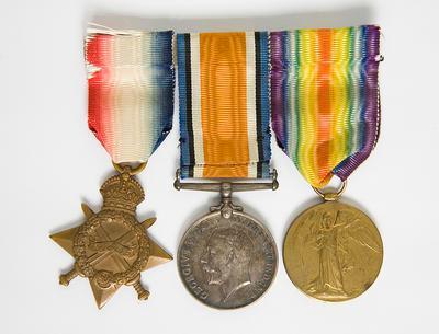 Medals – WW1 Standard Trio, J.J Levien