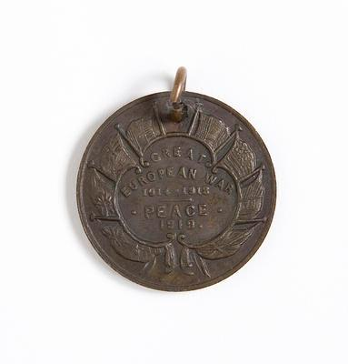 Medal – Peace, Great European War 1919
