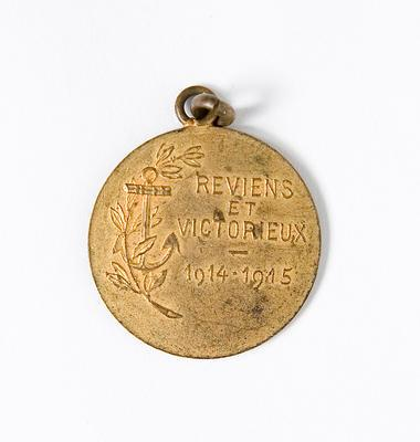 Medallion – French 1914–1915