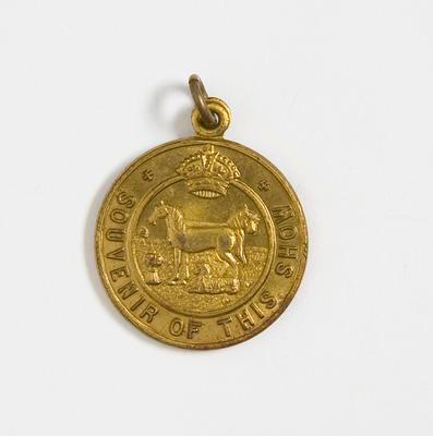 "Medal – ""Souvenir Of This Show"", Agriculture Royal  Show"