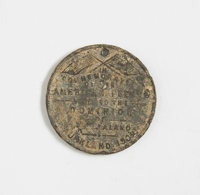 Medal – Commemorating the American Fleet Visit