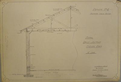 [Thames Valley Co-op Dairying Co. Ltd]  Ngataipua Cheese Factory. Drawing No.4.